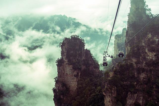 montagnes de Zhangiajie